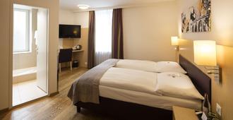Walhalla Hotel - Zurich - Bedroom
