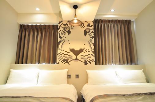 博客創意旅店 - 台中 - 臥室