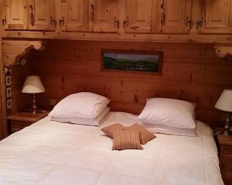 Gstaad - Luxury Flat In Rougemont - Rougemont - Slaapkamer