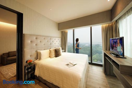 Pan Pacific Serviced Suites Beach Road, Singapore - Singapore - Bedroom