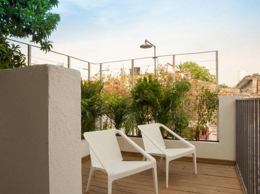 La Casa Del Patio Hotel Boutique by Xarm Hotels - Santa Marta - Parveke