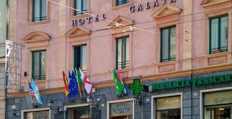 Hotel Galata - Génova - Edificio