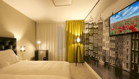 Camp Inn Hotel Amsterdam - Amsterdam - Bedroom