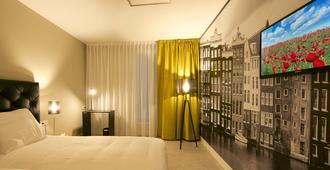 Camp Inn Hotel Amsterdam - אמסטרדם - חדר שינה