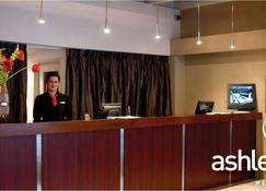 The Ashley Hotel - Greymouth - Front desk