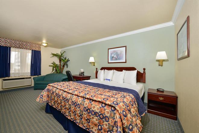 美洲最優價值酒店 - 休斯敦/霍比機場 - 休士頓 - 休斯頓 - 臥室