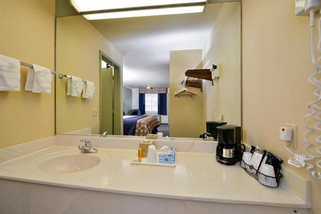 美洲最優價值酒店 - 休斯敦/霍比機場 - 休士頓 - 休斯頓 - 浴室