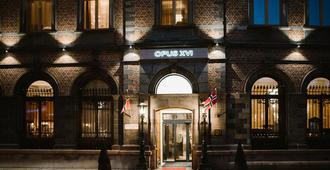 Opus XVI - Bergen - Toà nhà