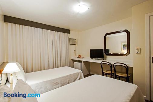 Trevi Hotel & Business - Curitiba - Phòng ngủ