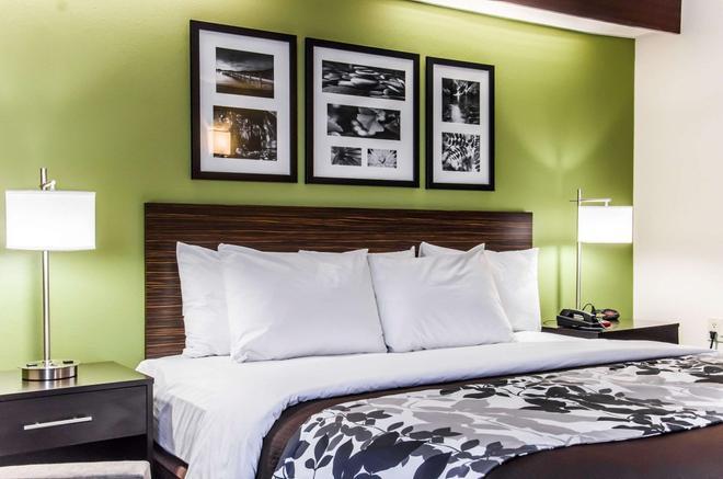 Sleep Inn Airport - Billy Graham Parkway - Шарлотт - Спальня