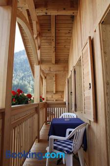 Christophorus Mountain Residence - San Vigilio di Marebbe - Μπαλκόνι