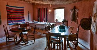 Lodge Rukazen Spa Rústico - San Pedro de Atacama - Restaurant