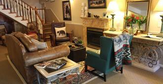 Black Bear Manor - Ouray - Sala de estar