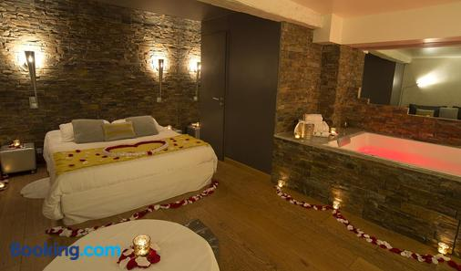告爾吉倫酒店 - 里昂 - 里昂 - 臥室