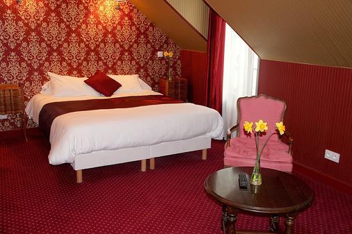 Logis Hôtel Rabelais - Τουρ - Κρεβατοκάμαρα