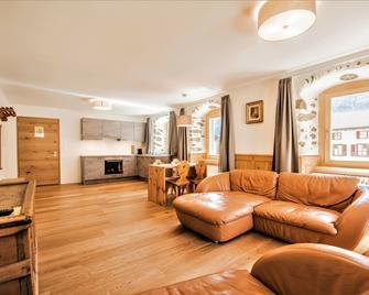 Hotel Münsterhof - Valchava - Вітальня