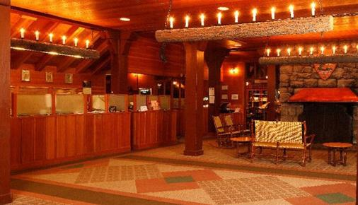 The Lodge at Bryce Canyon - Bryce - Front desk