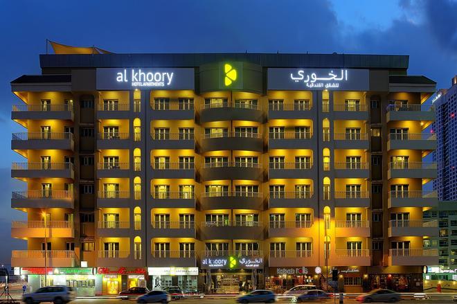 Al Khoory Hotel Apartments Al Barsha - Dubai - Building