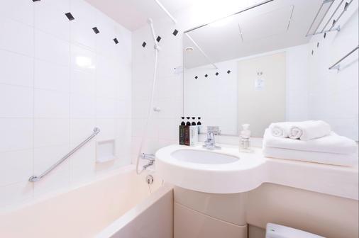 Hotel Villa Fontaine Tokyo-Hatchobori - Tokyo - Bathroom