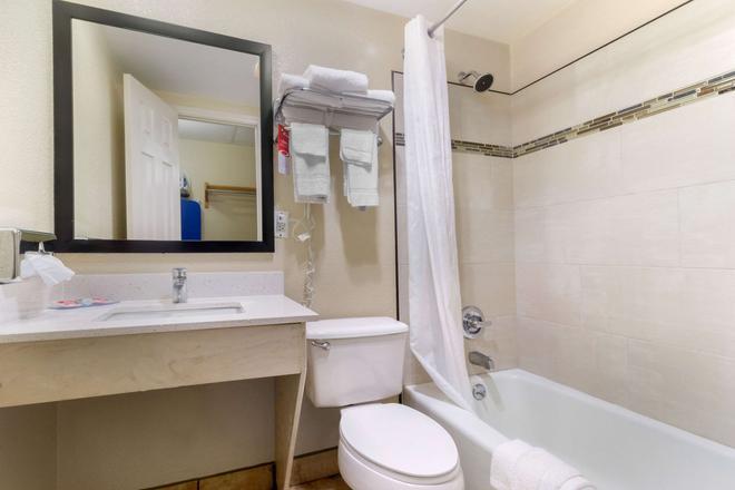 會議中心伊克諾套房酒店 - 加特林堡 - 蓋特林堡 - 浴室