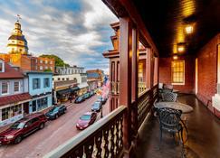 Historic Inns of Annapolis - Annapolis - Balcony