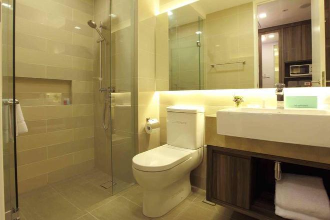 因維托套房酒店 - 吉隆坡 - 浴室