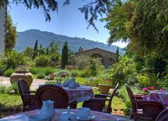 Relais Villa Baldelli - Cortona - Patio