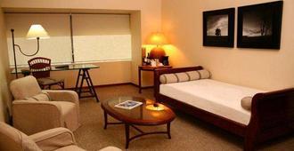 Almacruz Hotel y Centro de Convenciones (Ex Galerías) - Santiago de Chile - Schlafzimmer