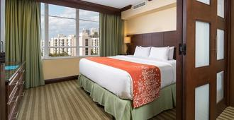 On The Beach - 2-Bedroom Resort Suite - Sunny Isles Beach - Bedroom