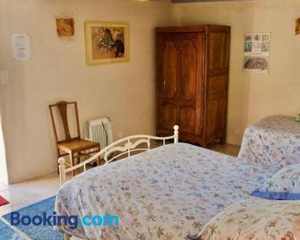 Chambres d'Hôtes Logis de l'Etang de l'Aune - Іффандік - Bedroom