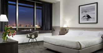 Unahotels San Vitale Bologna - Bolonya - Yatak Odası