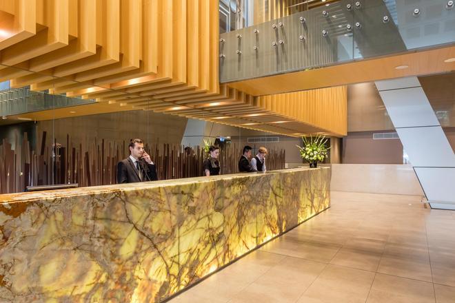 Meriton Suites World Tower - Sydney - Vastaanotto