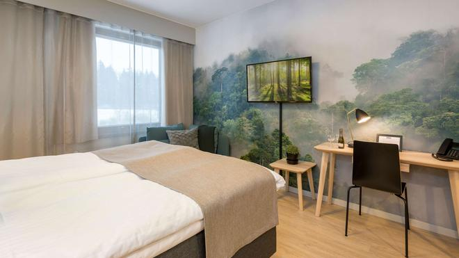 Hotel Haaga Central Park - Helsinki - Bedroom