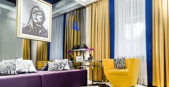 Mirax Sapphire Boutique Hotel - Kharkiv - Living room