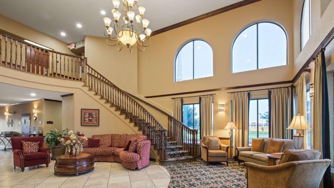 貝斯特韋斯特普拉斯維多利亞套房酒店 - 維多利亞 - 維多利亞(德克薩斯州) - 大廳