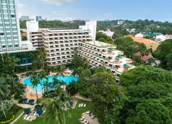 Shangri-La Hotel, Singapore - Singapur - Budynek
