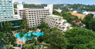 Shangri-La Hotel, Singapore - Singapore - Rakennus
