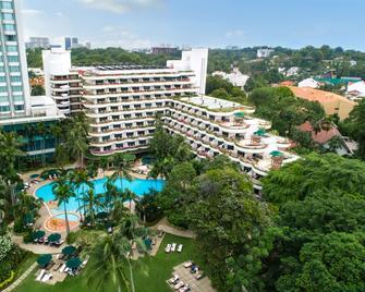 Shangri-La Hotel, Singapore - Σιγκαπούρη - Κτίριο