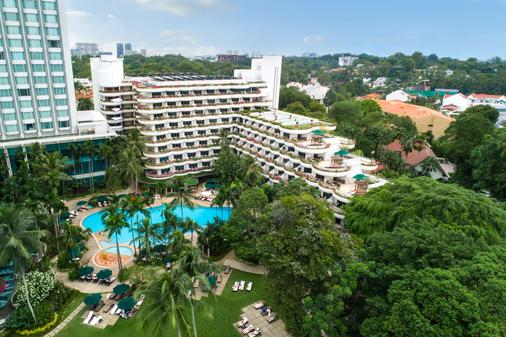 Shangri-La Hotel Singapore - Σιγκαπούρη - Κτίριο