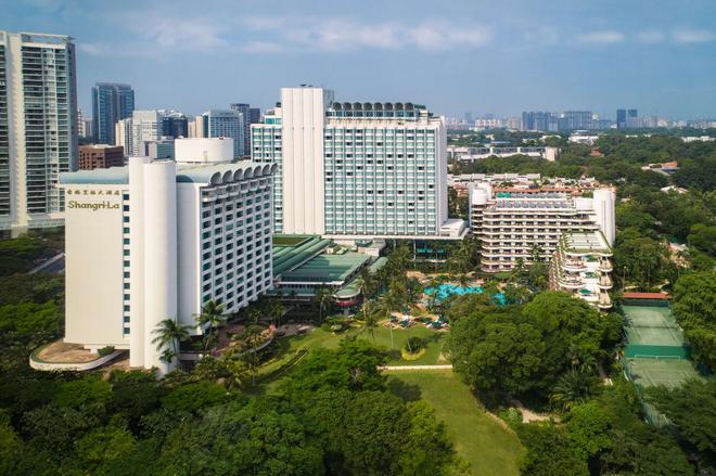 新加坡香格里拉飯店 - 新加坡 - 建築