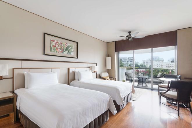 新加坡香格里拉飯店 - 新加坡 - 臥室