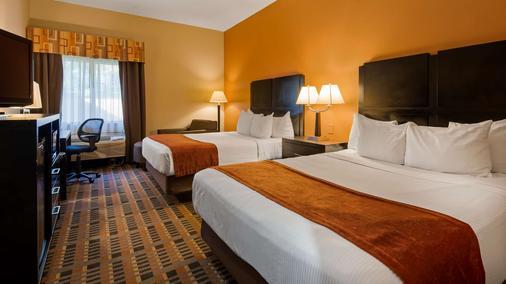 Best Western Bayou Inn & Suites - Lake Charles - Phòng ngủ