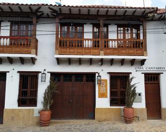 Hotel Casa Cantabria - Villa de Leyva - Gebouw