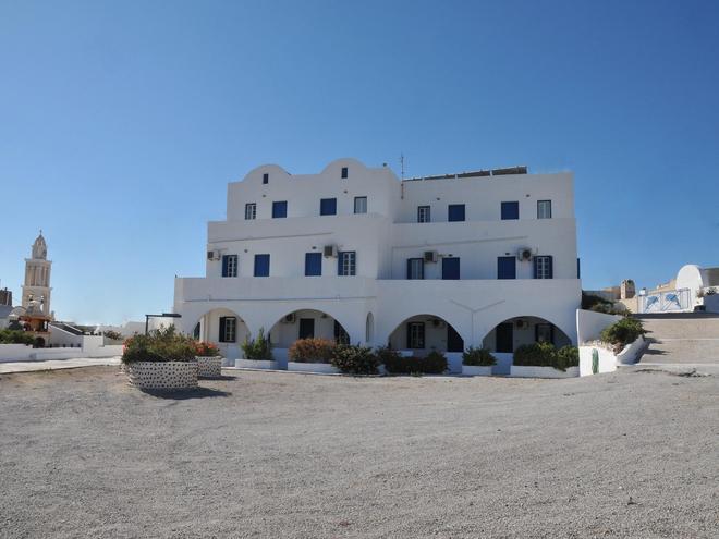 錫拉島海豚酒店 - 聖托里尼 - 阿克羅蒂里 - 建築
