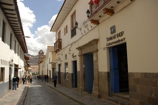 Hostal El Triunfo - Cusco - Outdoor view