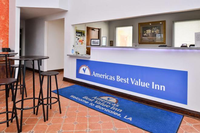 Americas Best Value Inn Gonzales - Gonzales - Front desk