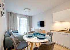 諾瓦莫拉瓦多姆豪斯公寓飯店 - 格但斯克 - 餐廳