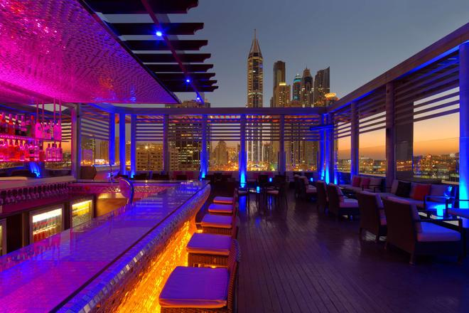 Radisson Blu Hotel, Dubai Media City - Dubaj - Bar