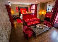 Buddha-Bar Hotel Prague - Praga - Sala de estar
