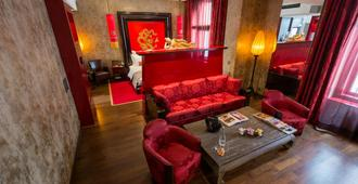 Buddha-Bar Hotel Prague - Praga - Sala de estar